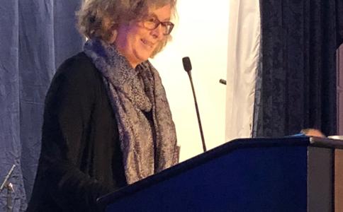 Linda Landry Receives Marie Feltin Award